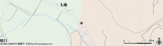 福島県福島市小田(天沼)周辺の地図