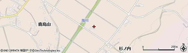 福島県福島市小田(杉ノ内沖)周辺の地図