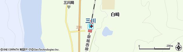 新潟県東蒲原郡阿賀町周辺の地図