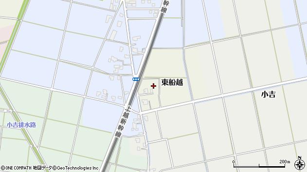 〒950-1326 新潟県新潟市西蒲区東船越の地図