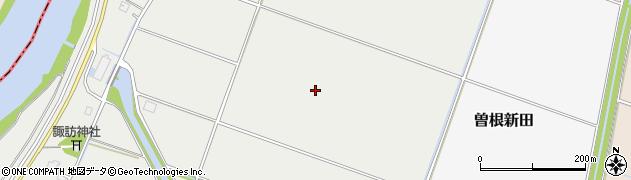 新潟県南蒲原郡田上町横場新田周辺の地図