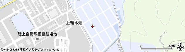 福島県福島市荒井(中雑木畑)周辺の地図