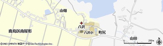 福島県南相馬市鹿島区南屋形北原周辺の地図