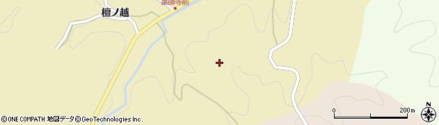 福島県伊達市月舘町糠田(養中内)周辺の地図