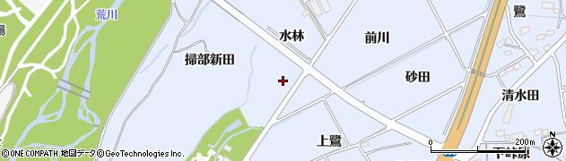 福島県福島市荒井(上鷺北)周辺の地図