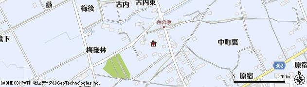 福島県福島市荒井(台)周辺の地図