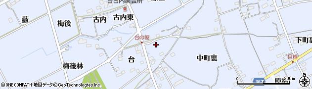 福島県福島市荒井(四本木)周辺の地図