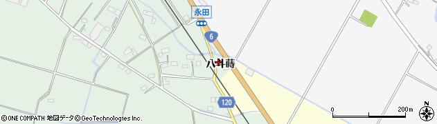 福島県南相馬市鹿島区横手八斗蒔周辺の地図