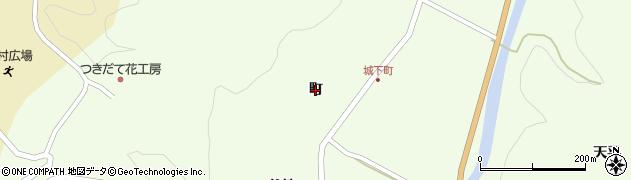 福島県伊達市月舘町下手渡(町)周辺の地図