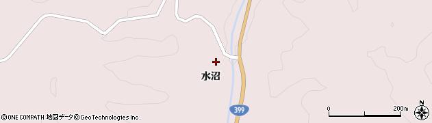 福島県伊達市月舘町月舘(檜田)周辺の地図