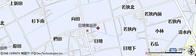 福島県福島市荒井(台番)周辺の地図