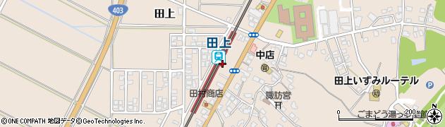 新潟県南蒲原郡田上町周辺の地図