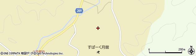 福島県伊達市月舘町糠田(舘山)周辺の地図