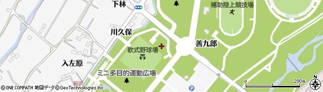 福島県福島市佐原(下林前)周辺の地図