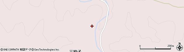 福島県伊達市月舘町月舘(三拍子)周辺の地図