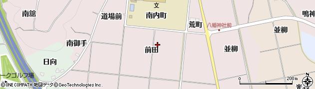 福島県福島市大森(前田)周辺の地図