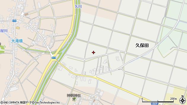 〒953-0142 新潟県新潟市西蒲区久保田の地図
