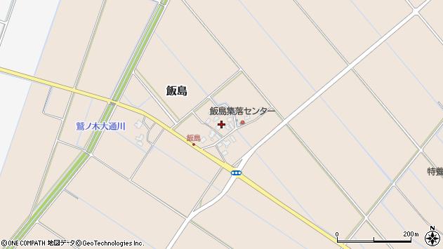 〒950-1447 新潟県新潟市南区飯島の地図