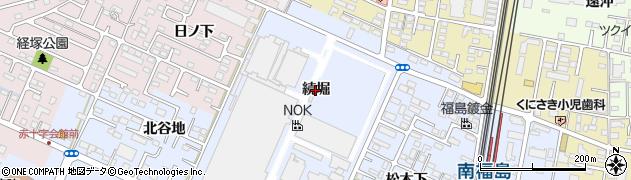 福島県福島市永井川(続堀)周辺の地図