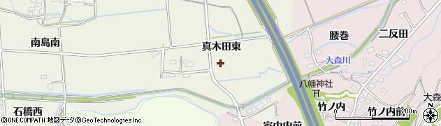 福島県福島市下鳥渡(真木田東)周辺の地図