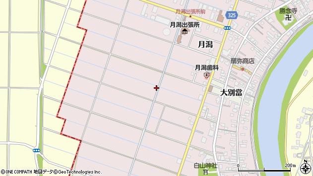 〒950-1304 新潟県新潟市南区月潟の地図