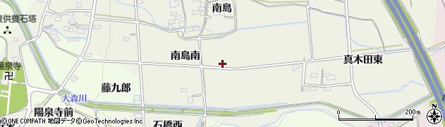 福島県福島市下鳥渡周辺の地図