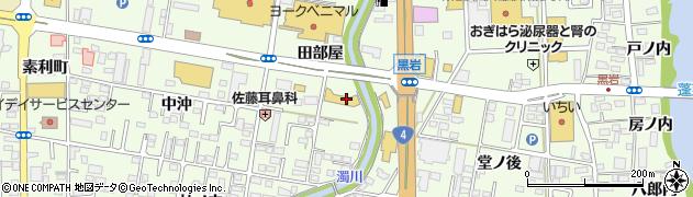 ソフトバンク南福島周辺の地図