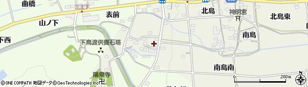福島県福島市下鳥渡(田中)周辺の地図