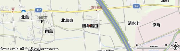 福島県福島市下鳥渡(四斗蒔田)周辺の地図