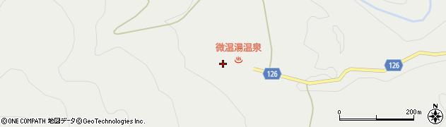 福島県福島市桜本(温湯)周辺の地図