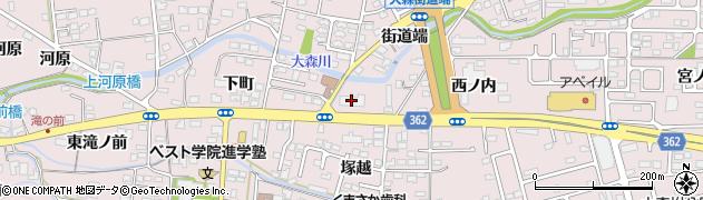ベスト個別学院 福島大森教室周辺の地図