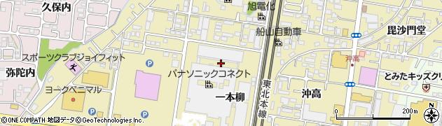 福島県福島市太平寺(一本柳)周辺の地図