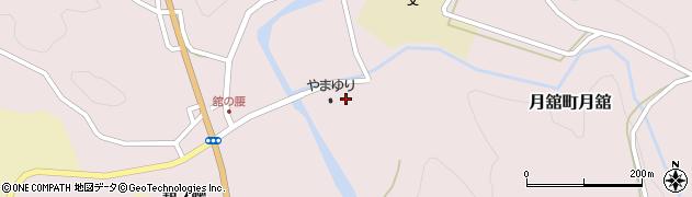 月舘 保健福祉センターやまゆり周辺の地図