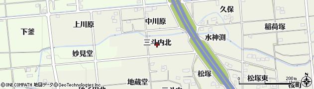 福島県福島市下鳥渡(三斗内北)周辺の地図