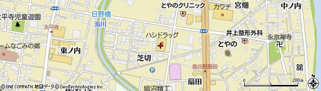 ハシドラッグ 鳥谷野店周辺の地図