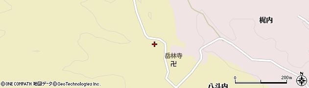 福島県伊達市月舘町糠田(西勝沢)周辺の地図