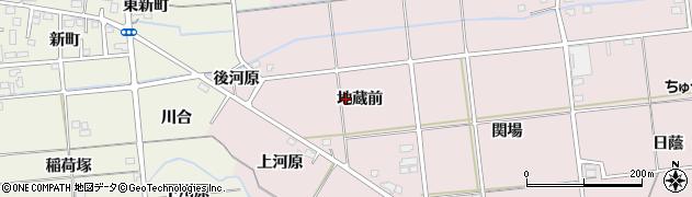 福島県福島市大森(地蔵前)周辺の地図