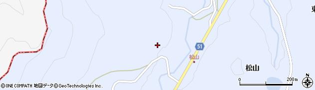 福島県伊達市霊山町上小国(仲ノ内)周辺の地図