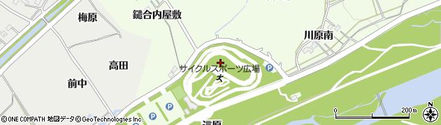 福島県福島市庄野(上高野)周辺の地図