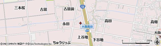 株式会社四輪販売福島 四輪ベース周辺の地図