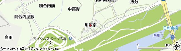 福島県福島市庄野(川原南)周辺の地図
