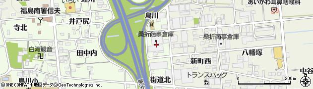 福島県福島市上鳥渡(田中内東)周辺の地図