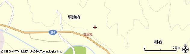 福島県伊達市月舘町布川(高屋敷)周辺の地図