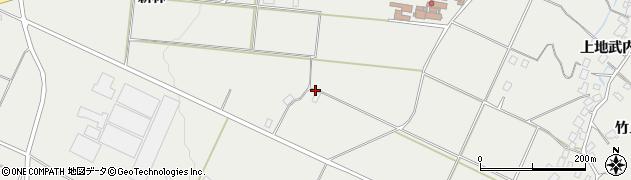 福島県福島市土船周辺の地図