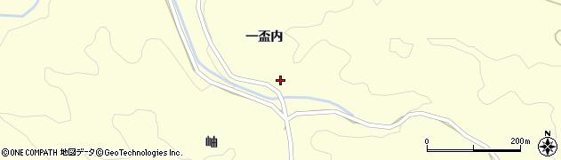 福島県伊達市月舘町布川(一盃内)周辺の地図