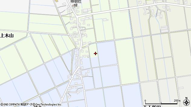 〒950-1474 新潟県新潟市南区上木山の地図