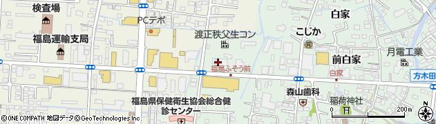 株式会社ジャパン唐和木業 福島配送センター周辺の地図