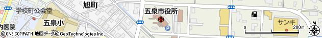 新潟県五泉市周辺の地図