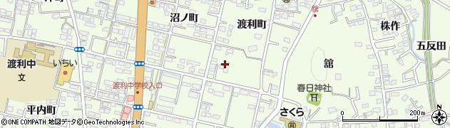 愛の家 グループホーム福島・渡利周辺の地図