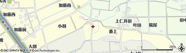 福島県福島市佐倉下(安広)周辺の地図